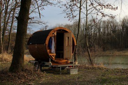 Saunamobil Wellness- Die fahrbare Sauna